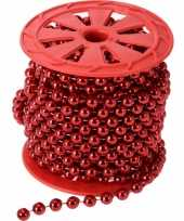 Kralenslinger rood 10 meter